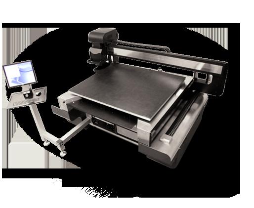 DTX plastic texturing machine