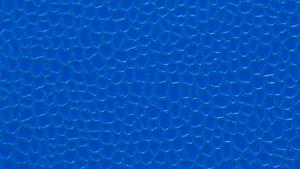 Digital Texturing Results - Textured Part Blue Closeup